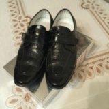 Туфли из крокодиловый кожи. Фото 2.