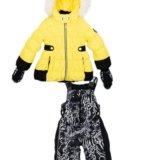 Комплект для девочки шалуны зима 3 года. Фото 1.