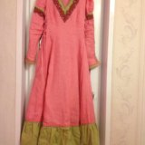 Длинное платье в этническом стиле. Фото 4. Глебовский.