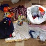 Пакеты детск одежды до 1,5 лет и до 3 лет, люлька. Фото 1.