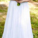 Свадебное платье 52-54-56. Фото 1. Иваново.