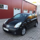 Nissan note. Фото 1.