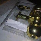 Ручка для двери, врезная, механическая с замком. Фото 1. Рязань.