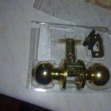 Ручка для двери, врезная, механическая с замком. Фото 2. Рязань.