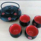 Китайский чайный набор б/у. Фото 1.