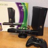 Xbox 360 4gb ( прошивка 3.0) + игры. Фото 1.