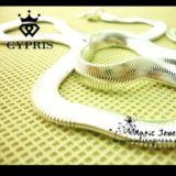 Ожерелье -  змейка посеребренное. Фото 4. Яблоновский.