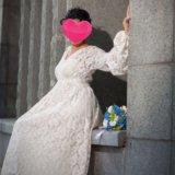 Необычное неповторимое свадебное платье. Фото 3.