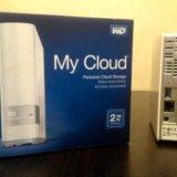 Сетевой накопитель wd my cloud 2tb. Фото 2.