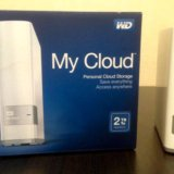 Сетевой накопитель wd my cloud 2tb. Фото 1.