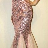 Платье в пайетках. Фото 2.