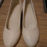 Туфли свадебные р.38. Фото 1.