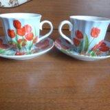 Набор чайный 4 предмета. Фото 1.