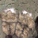 Тёплые тапки собачки. Фото 4.