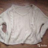 Вязанный свитер. Фото 1.
