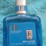 Туалетная вода men's fashion blue label. Фото 2.
