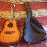 Гитара ручной работы + чехол. Фото 1.