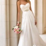 Новое свадебное платье р 40-46. Фото 1.