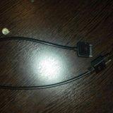 Aux  и usb кабель. Фото 1.