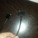 Aux  и usb кабель. Фото 2.