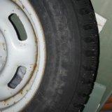 Комплект зимних колес 175/70 r13. Фото 3.