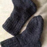 Носочки шерстяные для новорождённого. Фото 1. Набережные Челны.