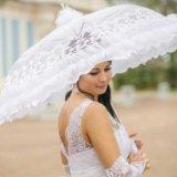 Свадебный зонт. Фото 1.