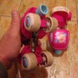 Оригинальные ролики barbie для маленьких. Фото 3. Москва.