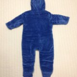 Утепленный велюровый комбинезон детский mothercare. Фото 2. Химки.