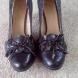 Туфли кожанные. Фото 1.
