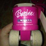 Оригинальные ролики barbie для маленьких. Фото 4. Москва.