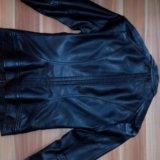 Натуральная кожаная куртка. Фото 1. Лыткарино.