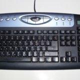 Клавиатура с калькулятором ps/2. Фото 1.