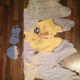 Пакет вещей n2 на мальчика от 0 до 3 мес. Фото 3.
