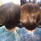 Экранирование волос. Фото 1. Краснодар.
