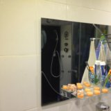 Зеркало для ванной комнаты. Фото 1.