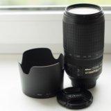 Nikon 70-300mm f/4.5-5.6g ed-if af-s vr. Фото 1.