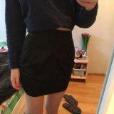 Необычная юбка на высокой талии новая. Фото 1. Санкт-Петербург.