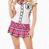 Маскарадный костюм школьница плэйбой. Фото 1. Москва.