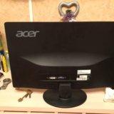 Монитор acer s220hql широкоформатный. Фото 3.