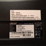 Монитор acer s220hql широкоформатный. Фото 4.