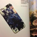 Чехол матовый бархатный на айфон 6/6s. Фото 1.