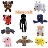 Мягкие плюшевые игрушки майнкрафт, minecraft. Фото 1.