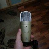 Студийный микрофон behringer c-1u. Фото 2.