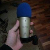 Студийный микрофон behringer c-1u. Фото 1.