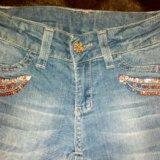 Бронь!джинсы на девочку рост: 110-116. Фото 2. Москва.