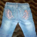 Бронь!джинсы на девочку рост: 110-116. Фото 3. Москва.