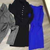 Цена за всё: штанишки, кофта, юбка, платье. Фото 1.