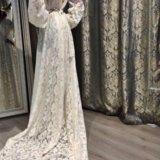 Необычное неповторимое свадебное платье. Фото 4.