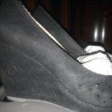 Замшевые туфли. Фото 1. Котельники.